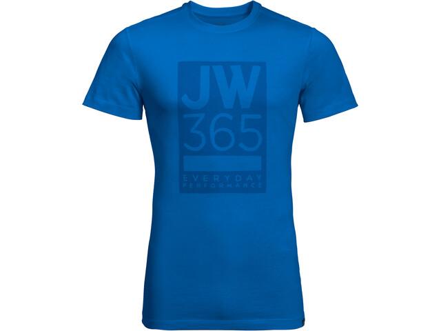 Jack Wolfskin 365 T-Shirt Uomo, blu